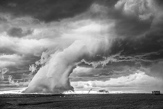 Groom Storm BW by Scott Cordell