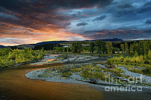 Tibor Vari - Gros Ventre River, Tetons National Park