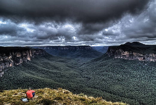 Grose Valley The Blue Mountains Australia by David Iori