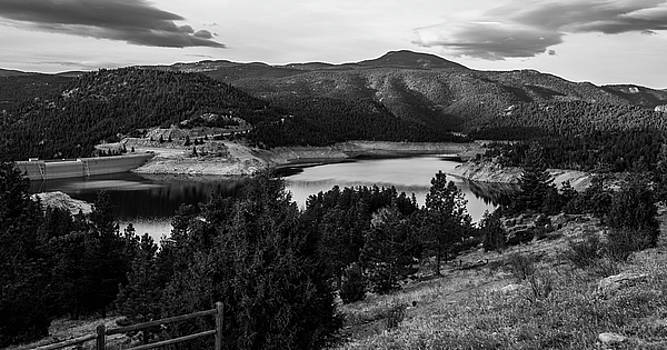 Gross Reservoir In Black And White by Michael Putthoff
