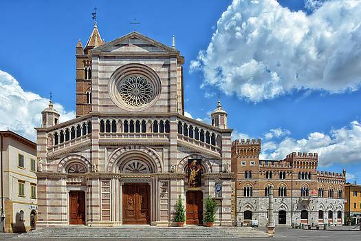 Grosseto Cathedral by Joachim G Pinkawa
