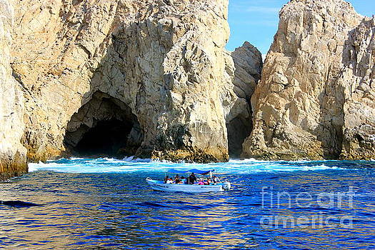 Grotto of  Cabo San Lucas Mexico by The Art of Alice Terrill