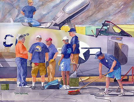 Ground Crew by John Ressler