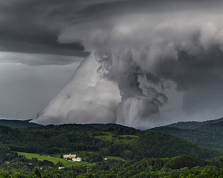 Grounded Shelf Cloud by Tim Kirchoff