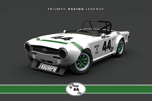 Group 44 TR6 High Front Quarter by Pete Chadwell
