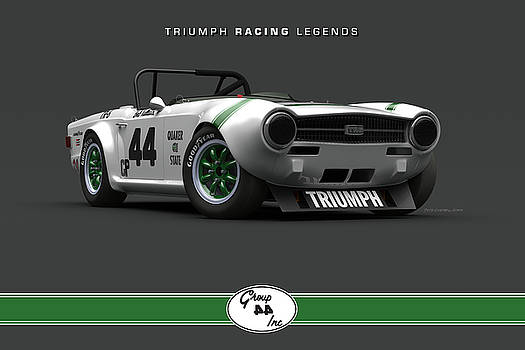 Group 44 TR6 Low Front Quarter by Pete Chadwell