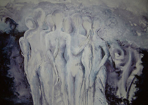 Group of people by Jos Van de Venne
