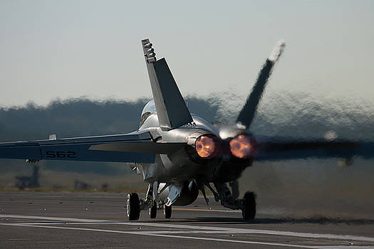 Growler Burner Takeoff by John Clark