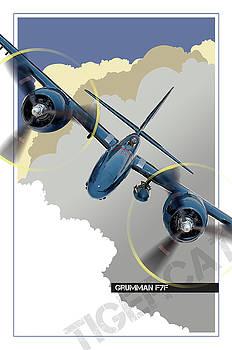Grumman F7F Tigercat by Larry McManus