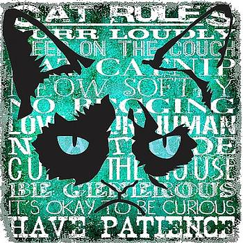 Grumpy Cat Rules by Dawn Bearden