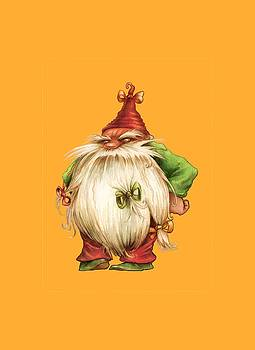 Grumpy Gnome by Andy Catling