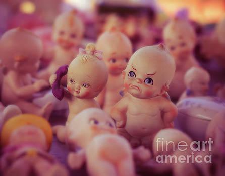 Grumpy Kewpie Doll by Sonja Quintero