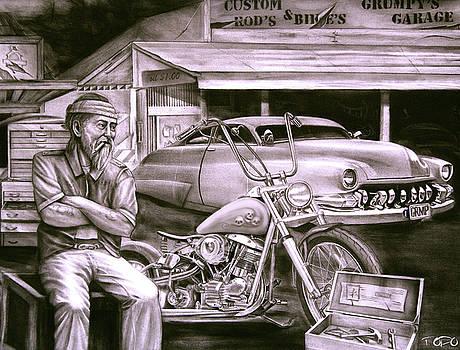 Grumpy's Garage by Todo Brennan