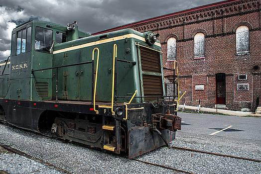 Grunge Train by Wayne King
