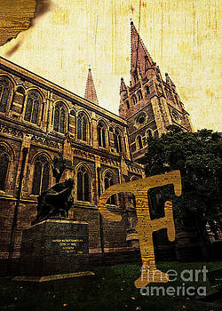 Beverly Claire Kaiya - Grungy Melbourne Australia Alphabet Series Letter F Captain Matt
