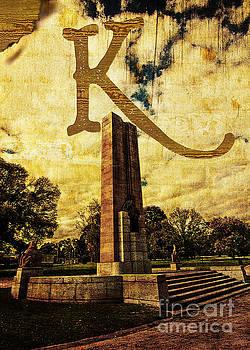 Beverly Claire Kaiya - Grungy Melbourne Australia Alphabet Series Letter K Kings Domain