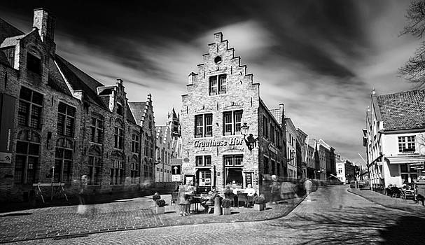 Gruuthuse Hof in Bruges by Barry O Carroll