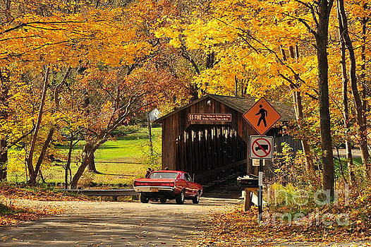 Terri Gostola - GTO at Fallasburg Covered Bridge