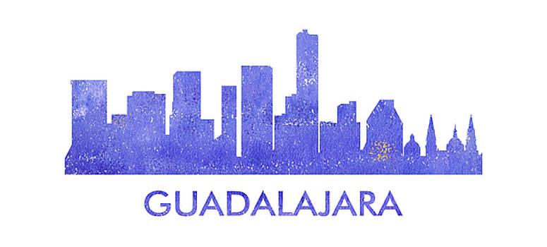 Vyacheslav Isaev - Guadalajara  city purple skyline