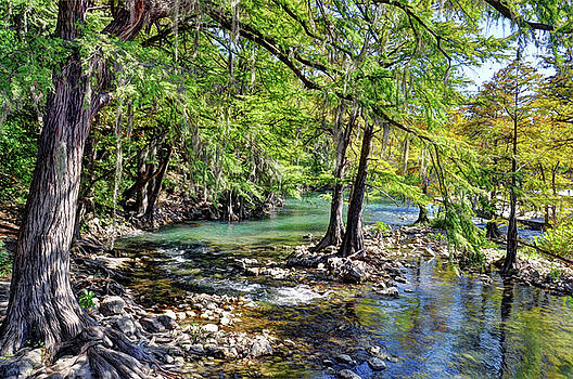 Guadalupe River in Gruene Texas by Savannah Gibbs