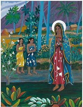 Guadalupe visits Gauguin by James Roderick