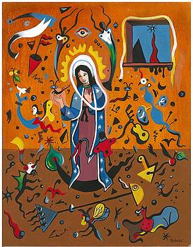 Guadalupe visits Miro by James Roderick
