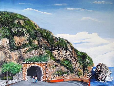 Guajataca Tunnel by Luis F Rodriguez