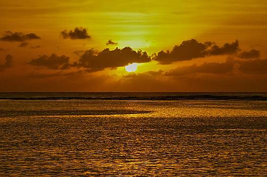 Guam Sunset by Byron Fair