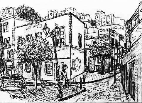 Guanajuato Street by Rich Travis