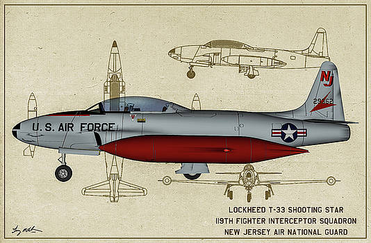 Guard T-33 Shooting Star by Tommy Anderson