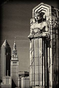 Guardian and Cleveland by Rod Flauhaus