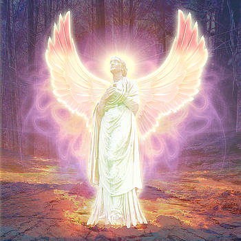 Guardian Angel Of God by Michael Waters