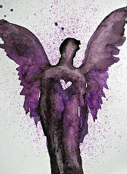 Guardian Angels Purple by Alma Yamazaki