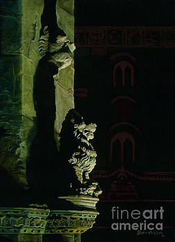 Guardian of Firenze Italy by Kelly Borsheim