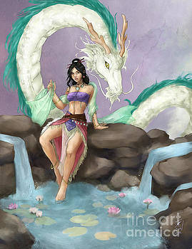 Guardian of the Lotus by Brandy Woods