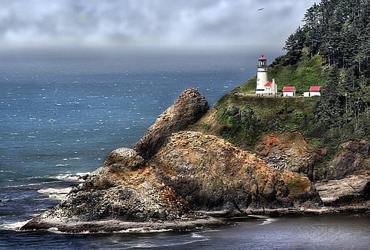 Guarding the Oregon Coast by Deborah Jahier