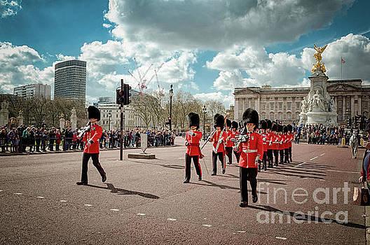 Mariusz Talarek - Guards marching #2