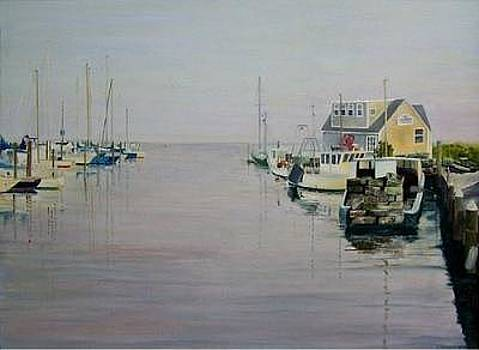 Guilford Harbor by Richard Christofferson