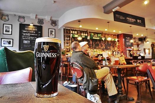 Guinness in the Pub by Steffani Cameron