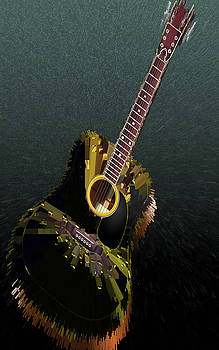 MS  Fineart Creations - Guitar Abstract