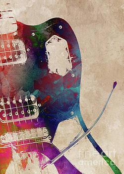 Justyna Jaszke JBJart - guitar art 3