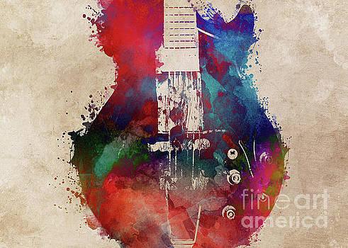 Justyna Jaszke JBJart - guitar art 6 music