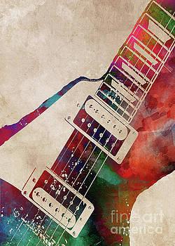 Justyna Jaszke JBJart - guitar art 7 music