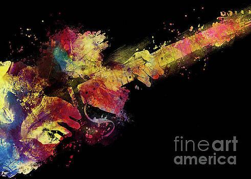 Justyna Jaszke JBJart - guitar art 8