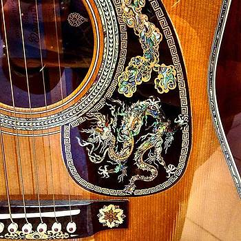 #guitar #art #design #martin&co #dragon by Ashley Miller