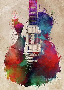 Justyna Jaszke JBJart - guitar art