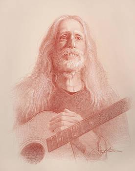 Guitar Hank by Todd Baxter
