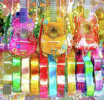 Guitar Happy by Norma Warden
