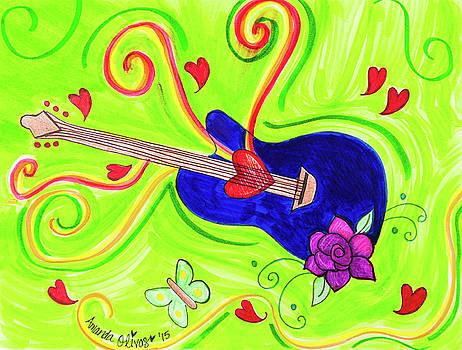 Guitar in the Sky by Amanda Johnson