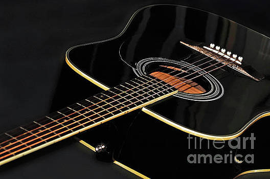Guitar Low Key by Kaye Menner by Kaye Menner